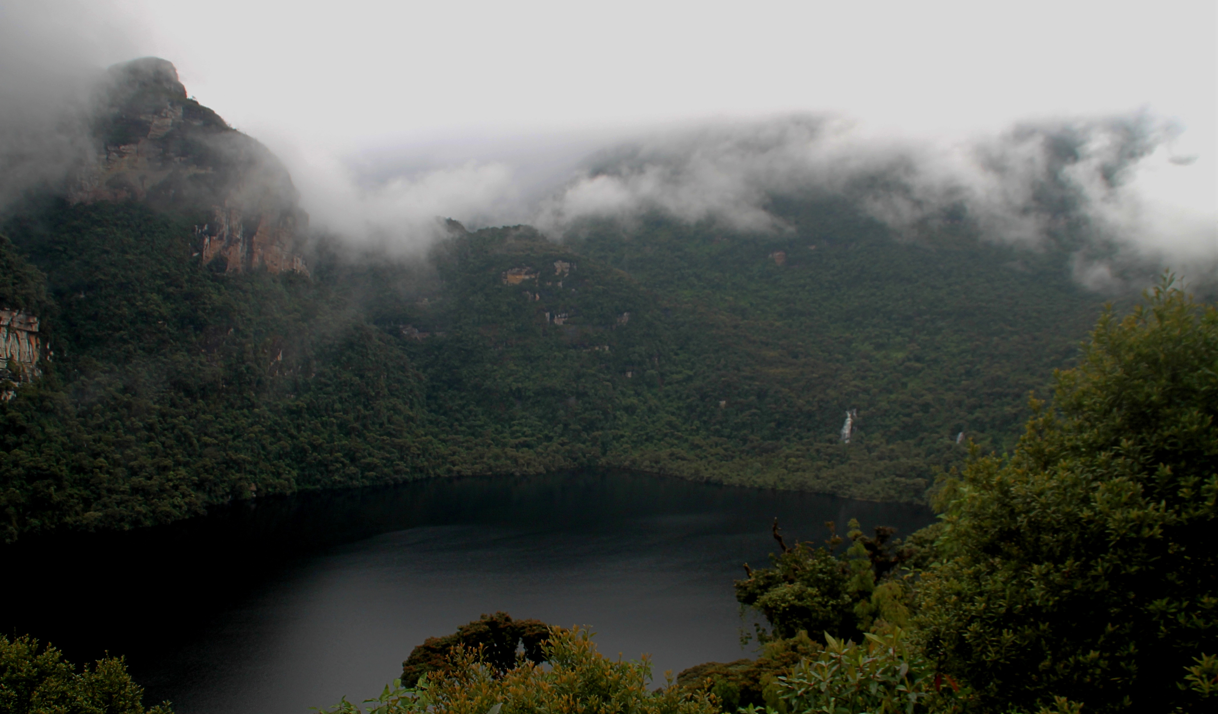 Der Kondorsee lässt sich von Leimebamba aus zu Fuß oder zu Pferd erreichen.