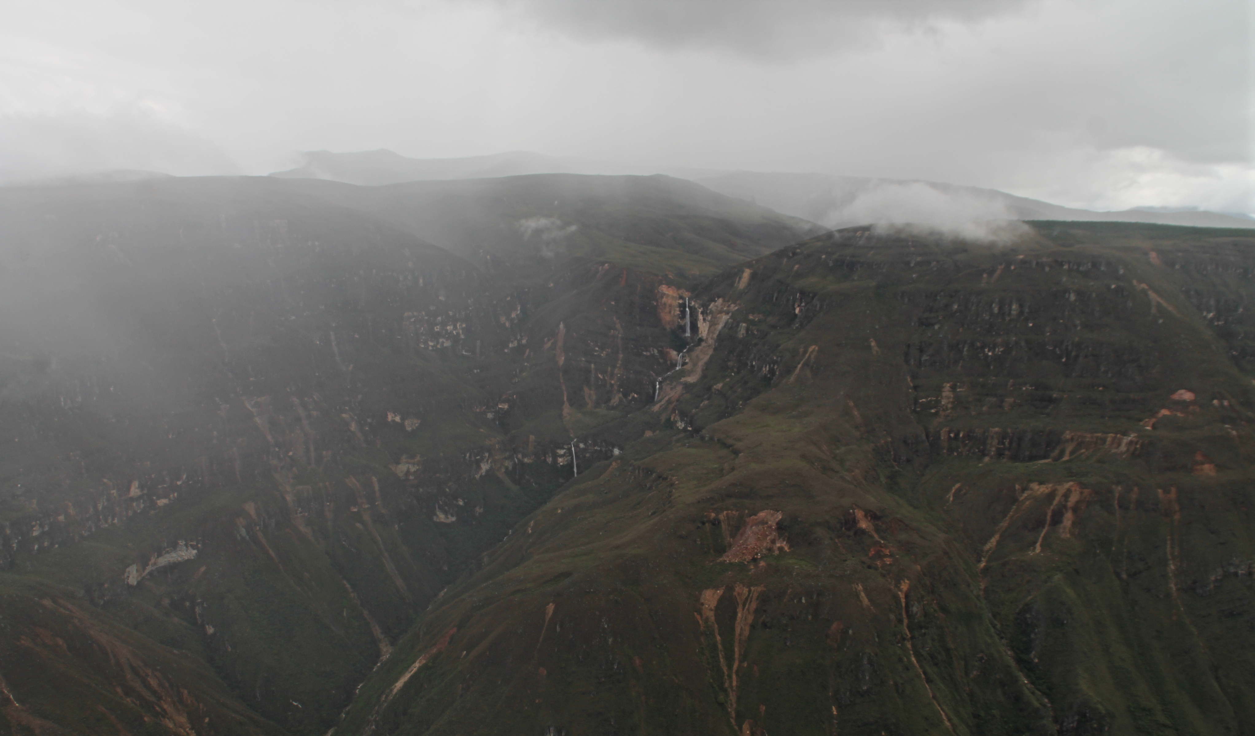 Der Aussichtspunkt Mirador de Huancas lässt sich einfach ab dem Dorf Huancas erreichen.