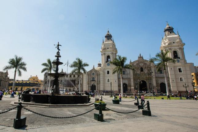 In Limas Parkanlagen sollen bald neue Bäume stehen.