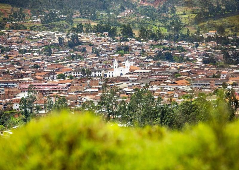 Chachapoyas: Die weiße Stadt. Quelle: PromPeru.