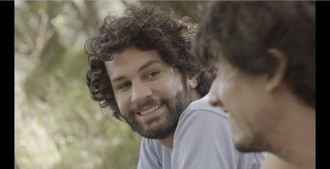 """Marco Berger, der Regisseur von """"Mariposa"""" im Interview mit Benno Schmidt von viventura auf der Berlinale 2015"""