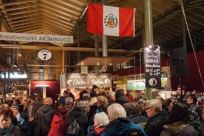Peru Liebt Küche Event in Berlin