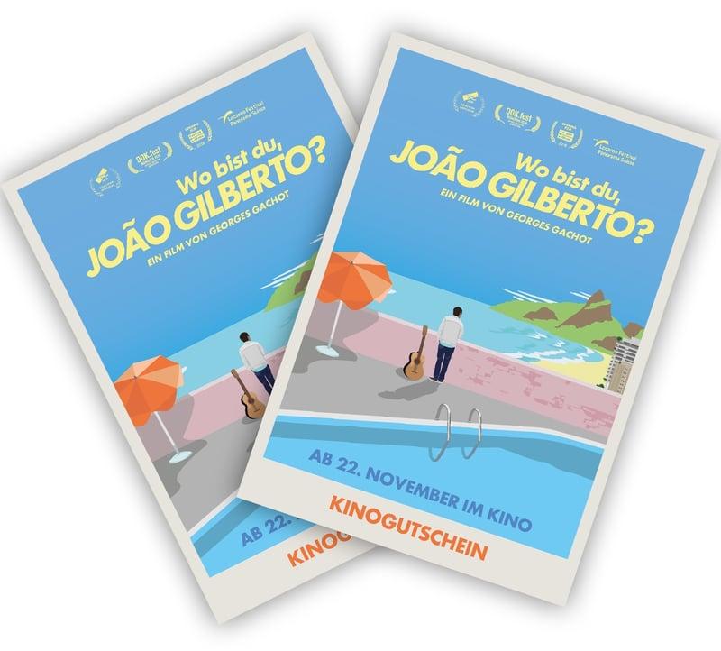 Jetzt mitspielen und zwei Karten zum Film gewinnen! Quelle: Wo bist du, JOÃO GILBERTO?/farbfilm verleih.