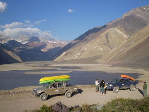 Sehenswürdigkeiten Südamerika: Cajon del Maipo