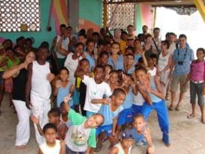Kinder des Abeac Projektes In Salvador de Bahia