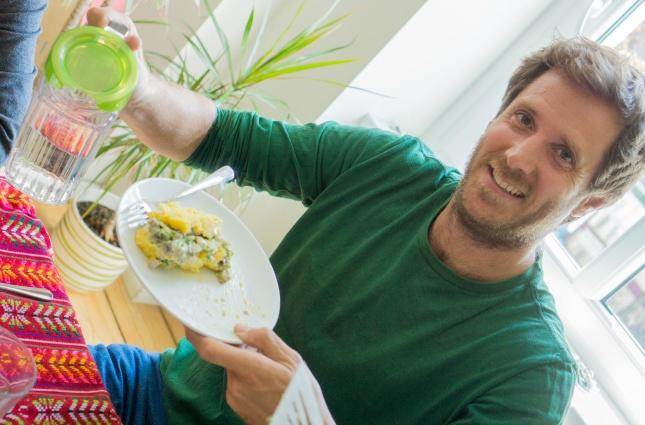 Der Beweis: Auch Argentinier können einer leckeren causa vegetariana nicht widerstehen.