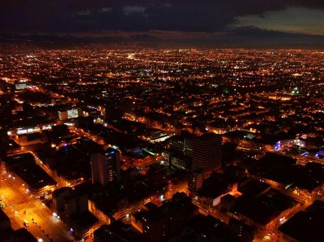 Bogota a noche