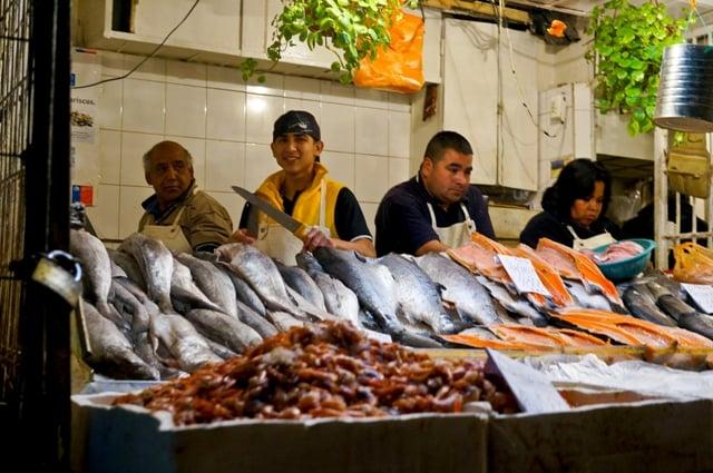 Santiago de Chile Märkte: Mercado Central