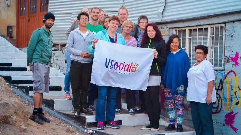 Das Exito Verde Projekt der VSocial Foundation in Bogotá, Kolumbien