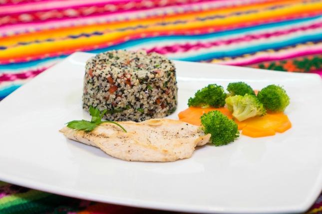 Regional produziertes Essen auf dem Inkatrail - ein doppelter Genuss!