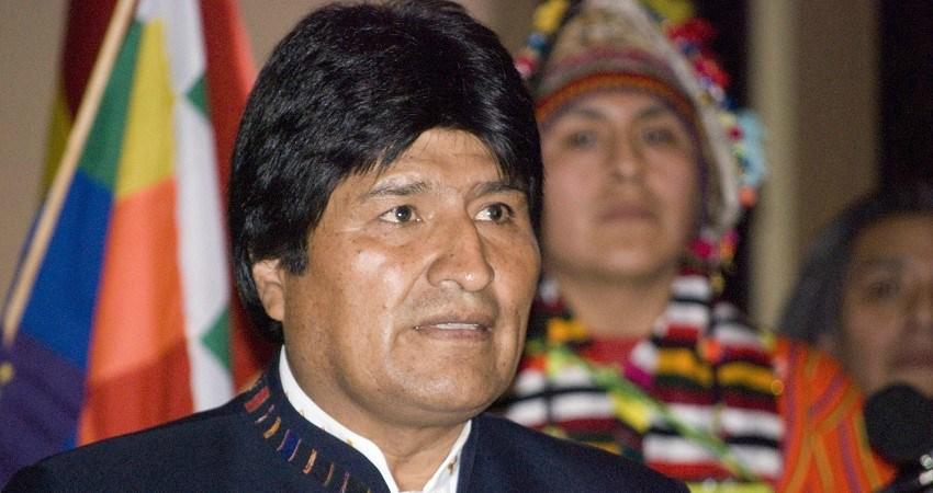 Kinderrechte in Bolivien: Kinder nehmen am Gesetzesprozess teil. Auf dem Foto: der bolivianische Präsident Evo Morales.
