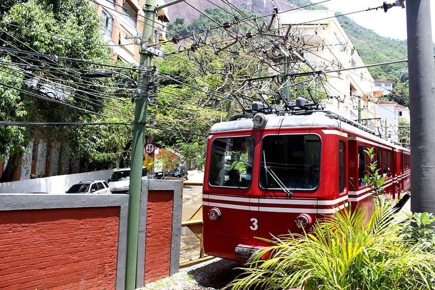 Zahnradbahn in Rio de Janeiro