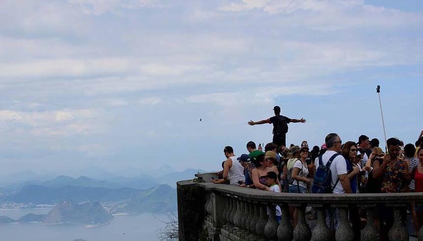 Auf der Spitze des Corcovados