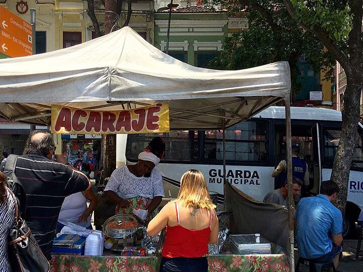 Streetfood Stand in Brasilien
