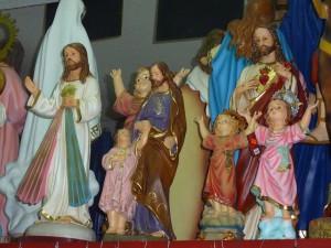 Figuren von Heiligen