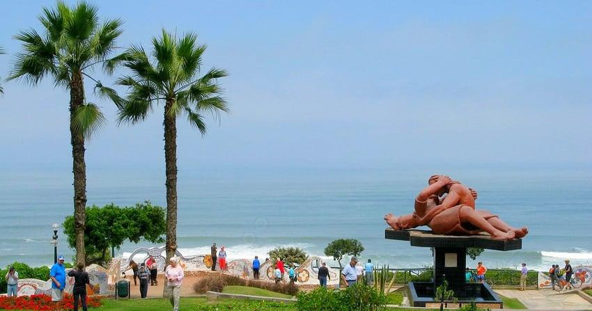 auch der Parque del Amor an der Costa Verde gehört zu dem Stadtviertel Miraflores.