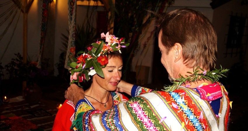 Tanja und Bernhard Oertel in Cuzco