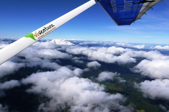 Traumflug über die Anden!