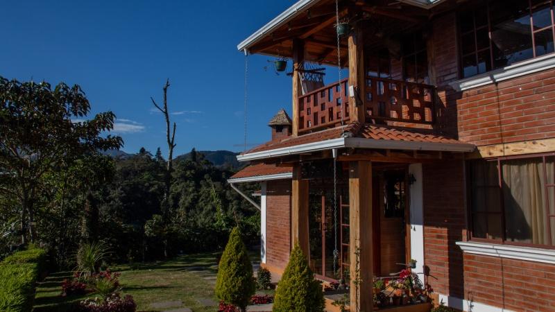Eines der neu gebauten Wohnhäuser in Yunguilla.