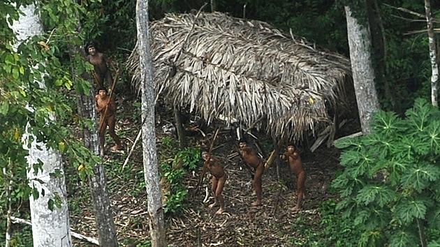 Brasiliens letzte Ureinwohner? - (c) Reuters