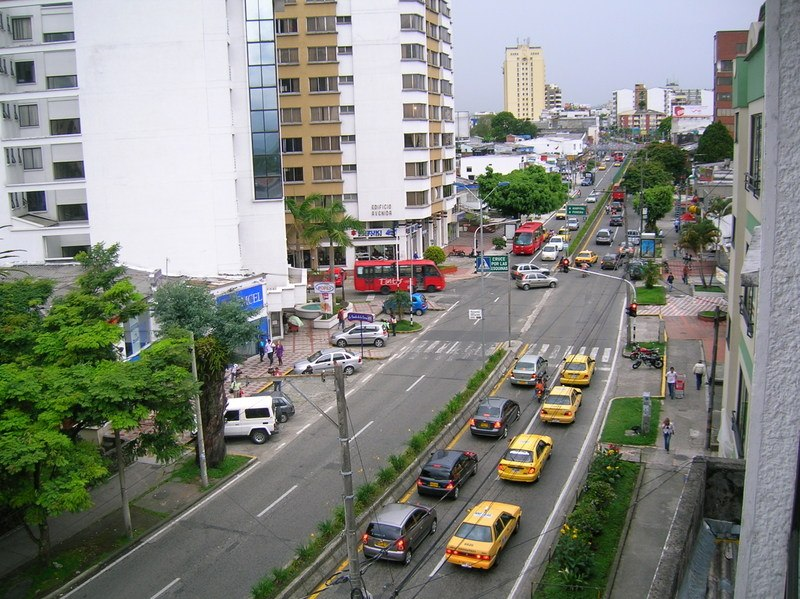 Armenia: Kolumbien Sehenswürdigkeiten. Quelle: Wikimedia.