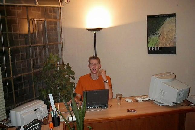 Christoph, erster Praktikant