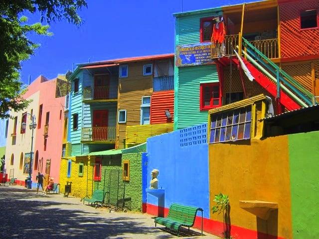 Farbvielfalt Südamerika: Buenos Aires