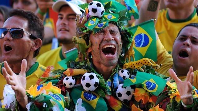 Au Brésil on a le foot dans la peau