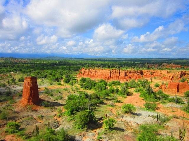 Farbvielfalt Südamerika: Tatacoa