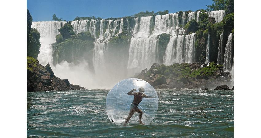 Iguazú Wasserfälle Zorbing