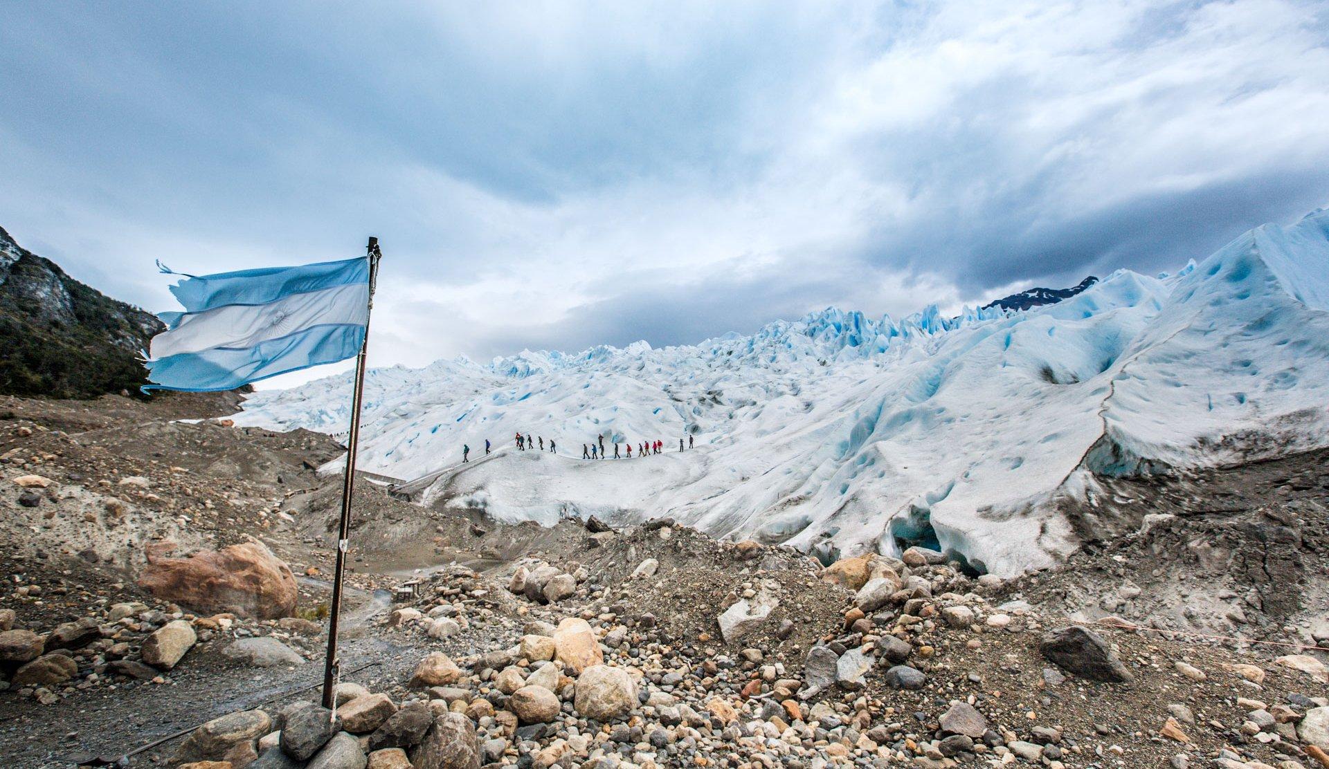 Unser absolutes Patagonien-Highlight in Argentinien: Der Perito Moreno Gletscher. Quelle: Viventura
