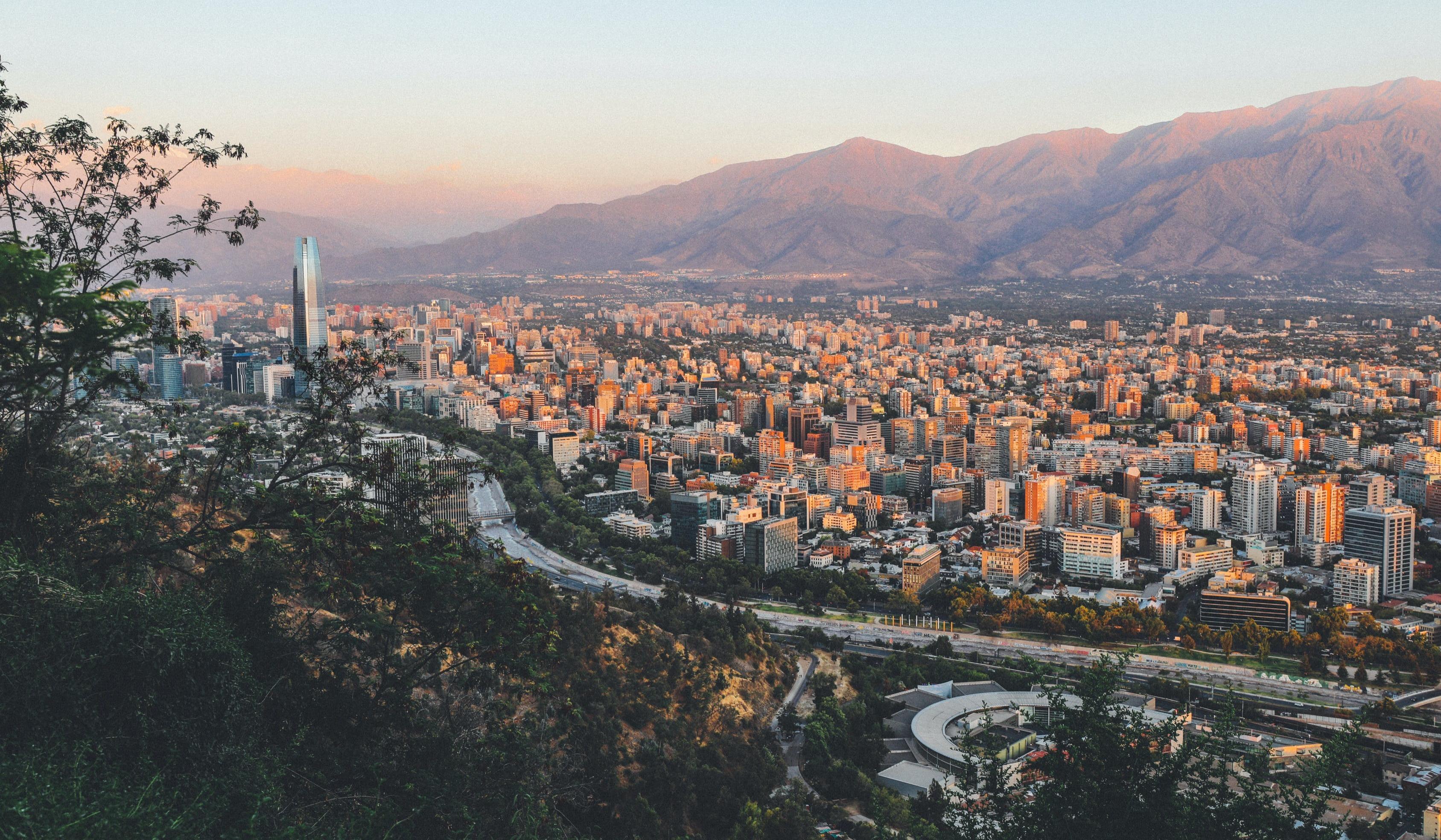 Aussicht über Chile