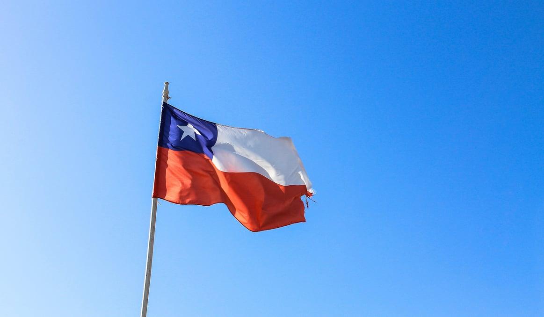 die chilenische Flagge