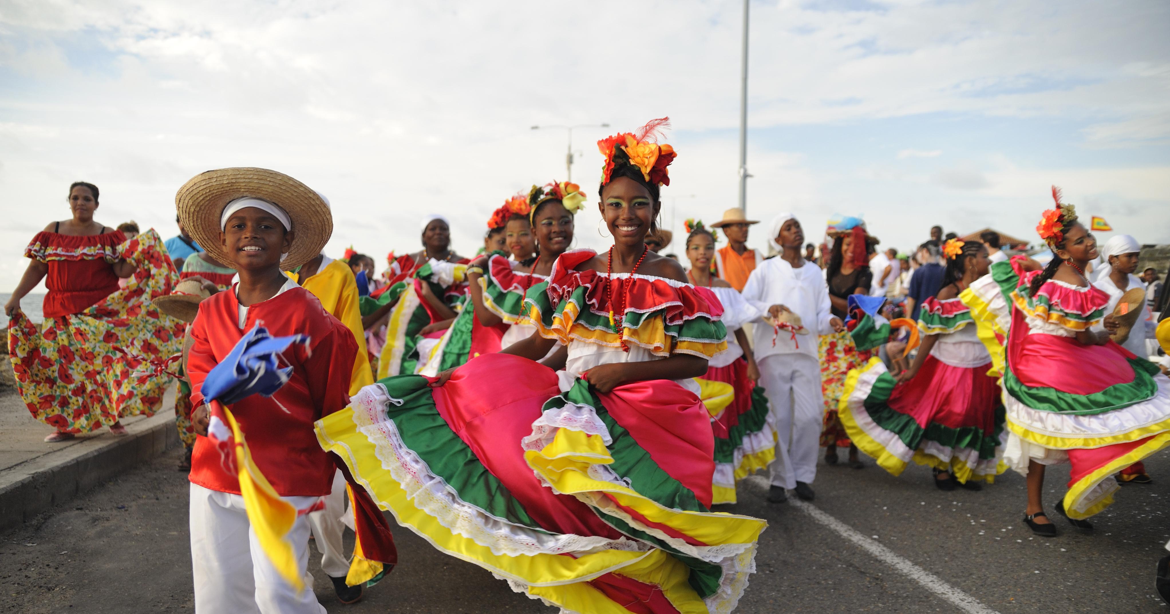 Karneval in Kolumbien: Lebensfreude pur.